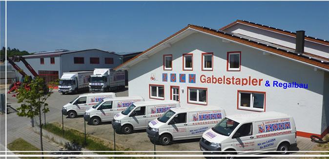 Bürogebäude Zoch Gabelstapler & Regalbau